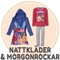 Nattkläder, pyjamas och morgonrock