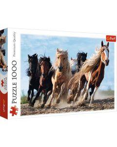Hästar pussel 1000 bitar
