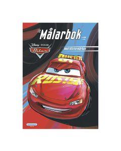 Disney Cars Målarbok