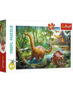 Dinosaurier pussel 60 bitar