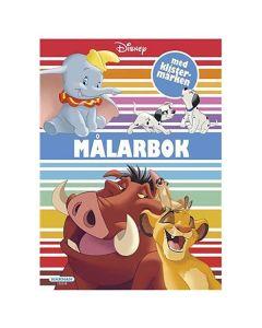 Disney klassiker Målarbok