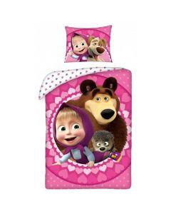 Masha och Björnen sängkläder