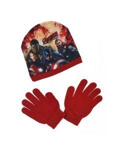 Avengers Mössa & Handskar
