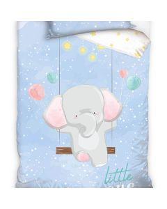 Junior sängkläder Elefant