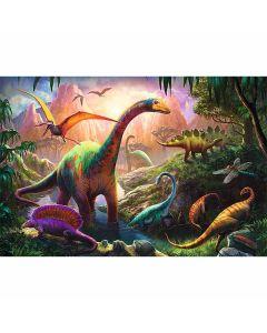 Dinosaurier pussel 100 bitar