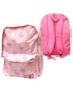 Flamingo ryggsäck skolväska