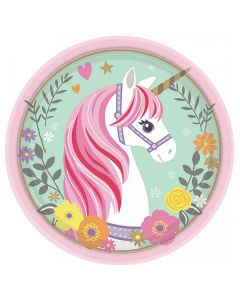 Unicorn Tallrikar 8 st