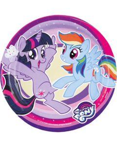 My Little Pony Tallrik 8 st / 18cm