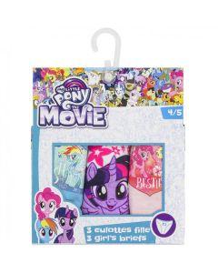 My Little Pony trosor 3-pack