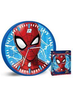 Spiderman väggklocka