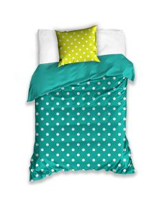 Colorful Sängkläder Aqua blå