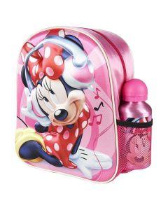 Mimmi Pigg ryggsäck 3d med vattenflaska