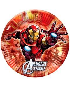 Avengers Tallrikar 8 st