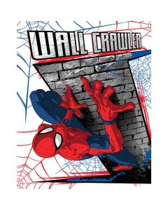 Spiderman Fleecefilt