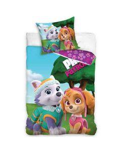 Paw Patrol sängkläder Skye & Everest