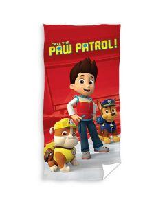 "Paw Patrol handduk ""Call the Paw patrol"""