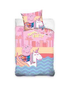 "Greta Gris Sängkläder ""Unicorn"""