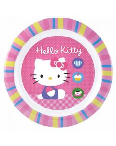 Hello Kitty Tallrik